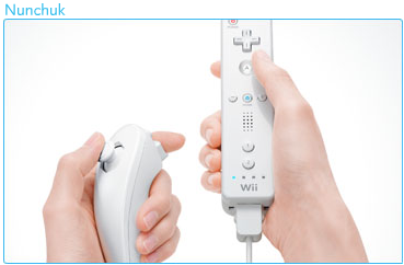 WiiMote and Nunchuk