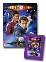 Second Doctor Who Sticker Album