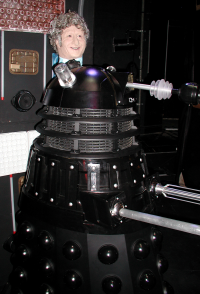 The Head of Pertwee and Dalek Sek