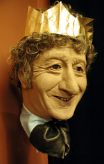 The Head of Pertwee in festive mood!
