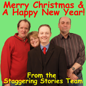 'Real' Keith, 'Fake Keith', Adam and Andy (Crumbly) wish you a Merry Christmas and a Happy New Year!