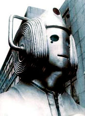 A Cyberman from The Invasion