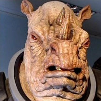 Judoon with toothache.